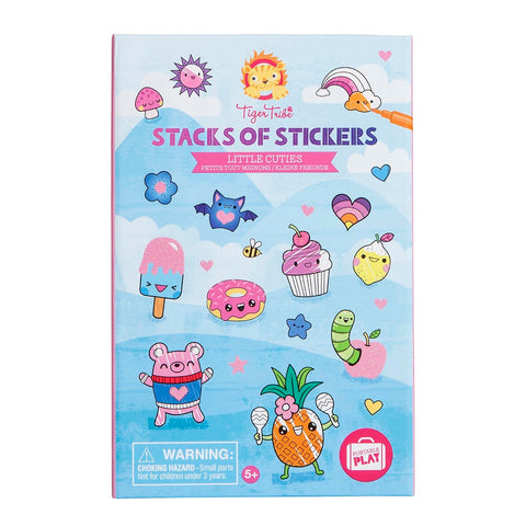 Tiger Tribe - Stacks of Stickers - Little Cuties