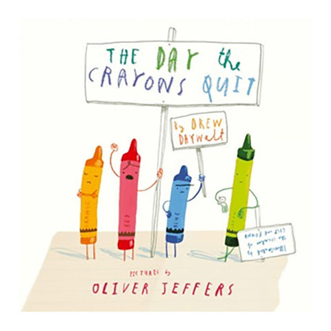 Book - The Day The Crayons Quit