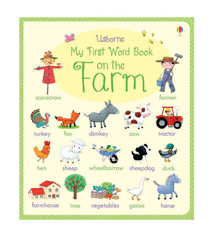 Book - My First Word Book: On The Farm