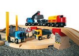 Brio - Rail and Road Quarry Train Set
