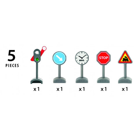 Brio - Traffic Sign Kit