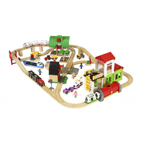 Brio - Deluxe World Railway Set  sc 1 st  Good to Play Toys : brio train set with table - pezcame.com