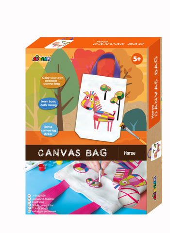 Avenir - Canvas Bag - Horse