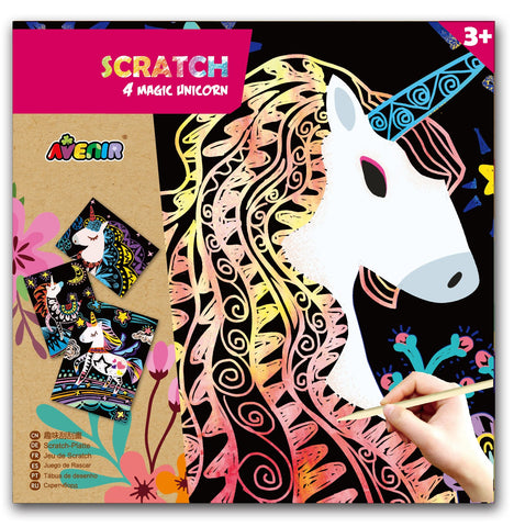 Avenir - Scratch - Magic Unicorn