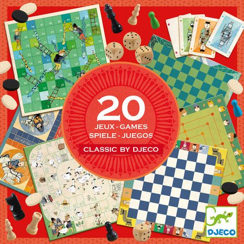 Djeco  - 20 Classical Games