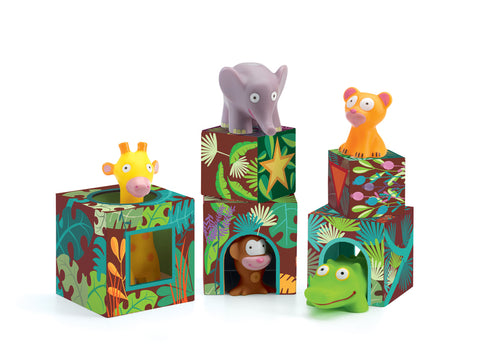 Djeco - Maxi Topani Jungle Blocks