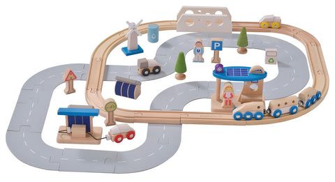 EverEarth - Eco City Train Set