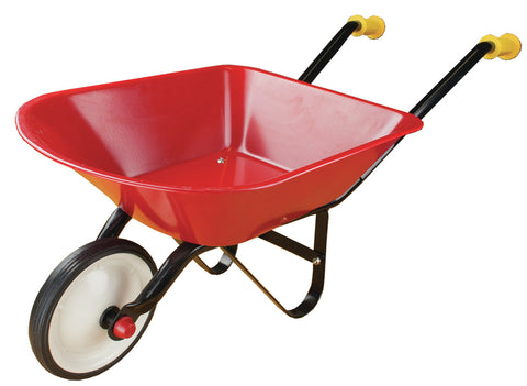 Johnco - Red Metal Wheel Barrow