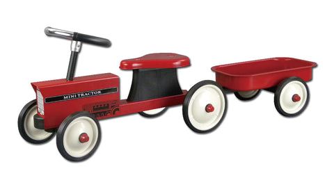 Johnco - Metal Tractor with Trailer