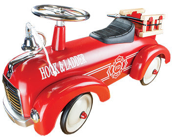 Johnco - Metal Speedster - Fire Engine