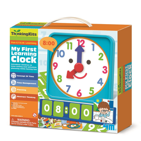 4M - ThinkingKits - My First Learning Clock