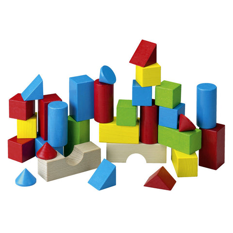 Haba - Coloured Wooden Building Blocks