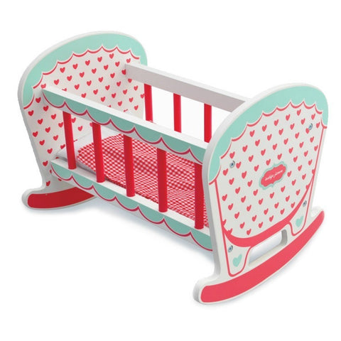 Indigo Jamm - Hearts Rocking Cot