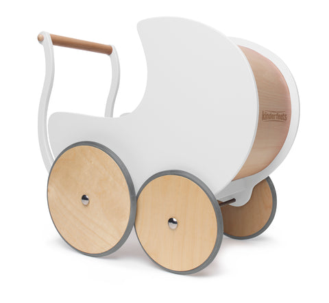 Kinderfeets - Walker Pram - White