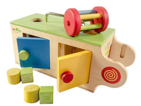 Mamagenius - Wooden Baby Activity Box