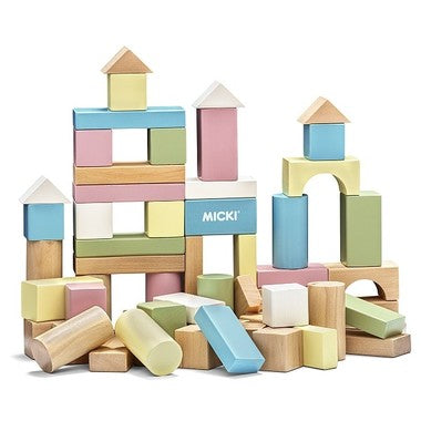Micki - 60 Building Blocks - Pastel