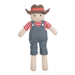 Apple Park - Barnyard Billy Organic Plush Toy