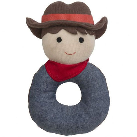 Apple Park - Barnyard Billy Organic Rattle