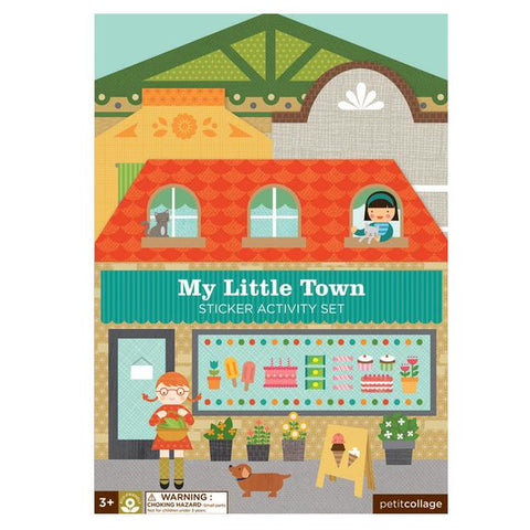 Petit Collage - Sticker Activity Set - My Little Town