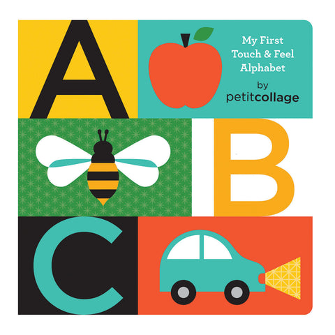Petit Collage - ABC Touch & Feel Alphabet Book