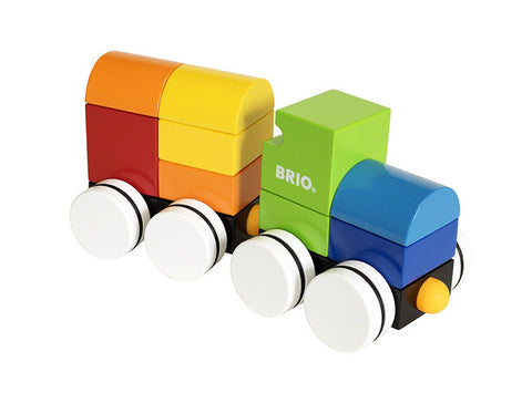 Brio - Magnetic Wooden Stacking Train