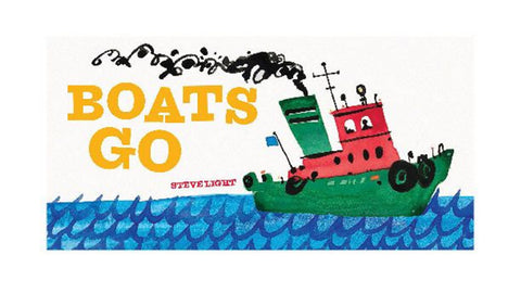 Book - Boats Go