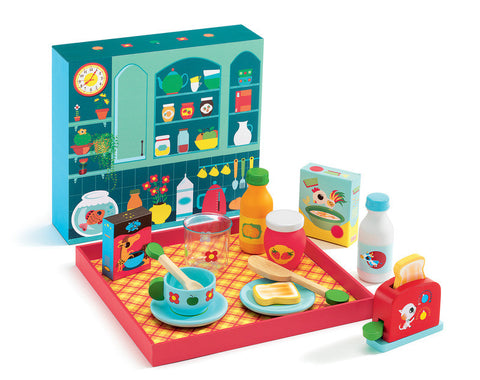 Djeco - Breakfast Time Play Set