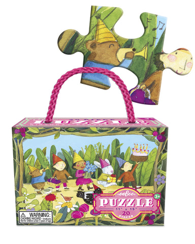 eeBoo - Birthday Parade 20 Piece Puzzle