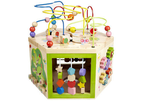 Everearth 7 In 1 Garden Activity Cube Good To Play Australia Good To Play Toys