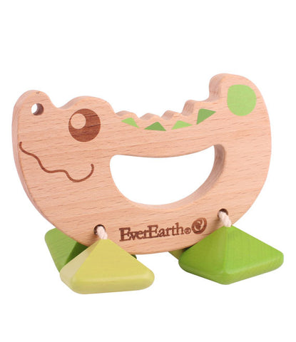 EverEarth - Rattle Toy - Croc