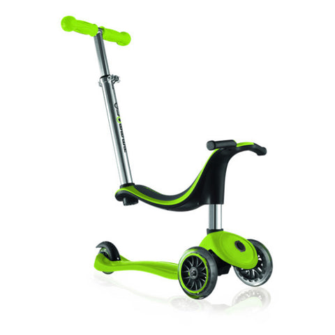 Globber - 4 in 1 My Free Kids Scooter - Dark Green