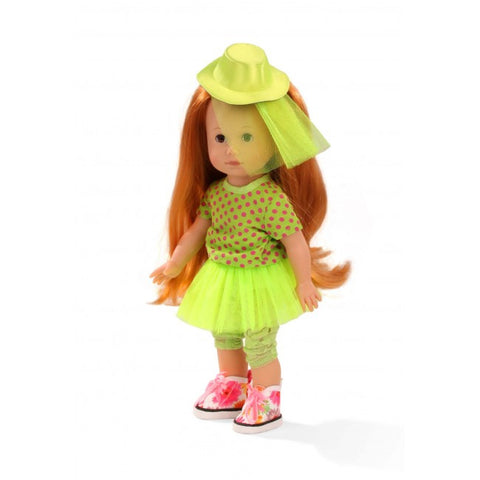Gotz - Just Like Me - Lucia - Green Hat & Dress