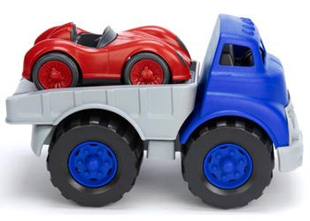 Green Toys - Flatbed Truck with Red Race Car