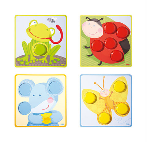 Haba - Matching Game Multicoloured Animals
