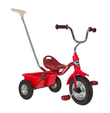 "Italtrike - Tricycle - Monza (with Pneumatic Tyres) - Red (12"")"