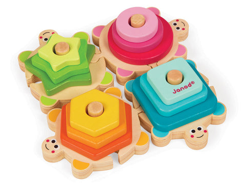 Janod - Turtles Stacking Puzzle