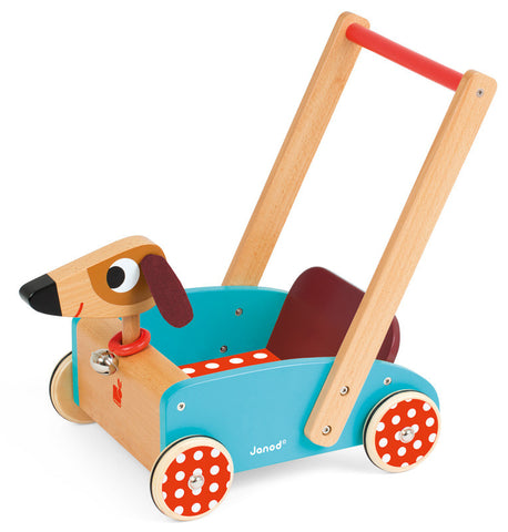 Janod - Crazy Doggy Cart