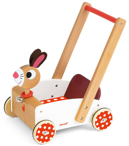 Janod - Crazy Rabbit Cart