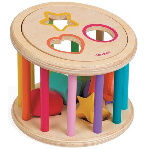 Janod - Shapes Quiz Shape Sorter