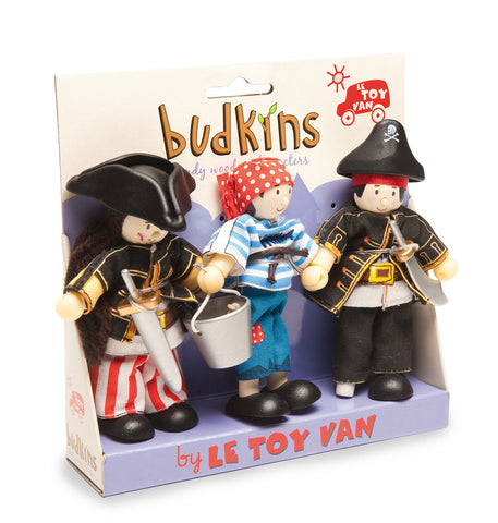 Le Toy Van - Budkins Pirate Set