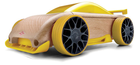 Automoblox - Mini C9-R Sportscar - Yellow