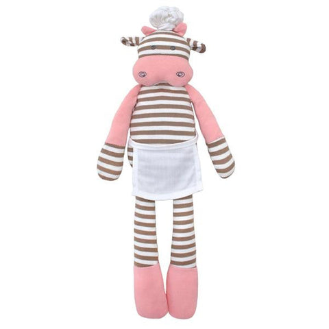 Apple Park - Chef Cow Organic Plush Toy