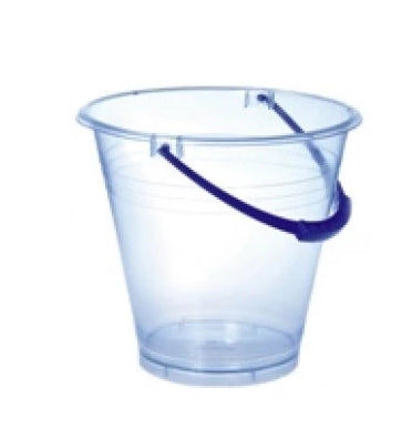 Plasto - Large Transparent Clear Bucket