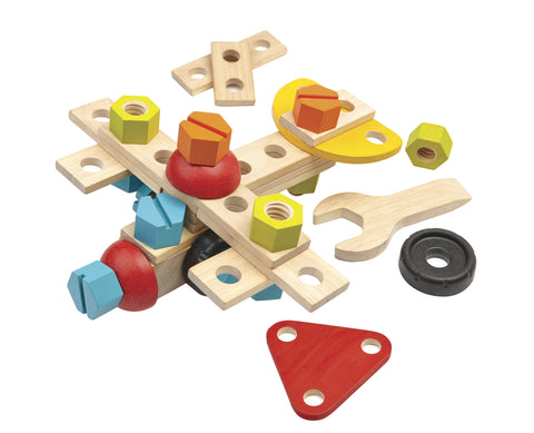 Plan Toys - Wooden Construction Set