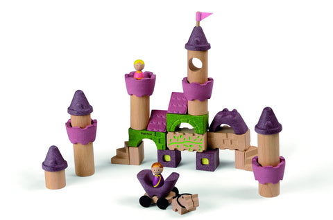 Plan Toys - Wooden Blocks - Fairy Tale