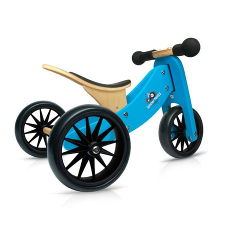 Kinderfeets - 2-in-1 Tiny Tot Balance Bike - Blue