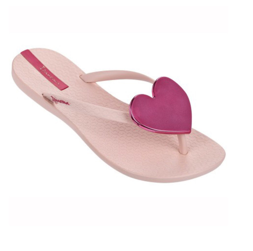 Ipanema Wave Heart Flip Flop - Pink