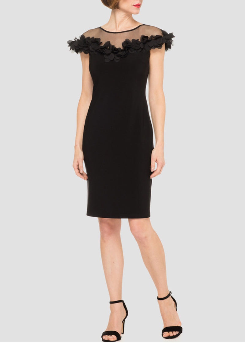 Joseph Ribkoff Cocktail Dress Black Style #191305