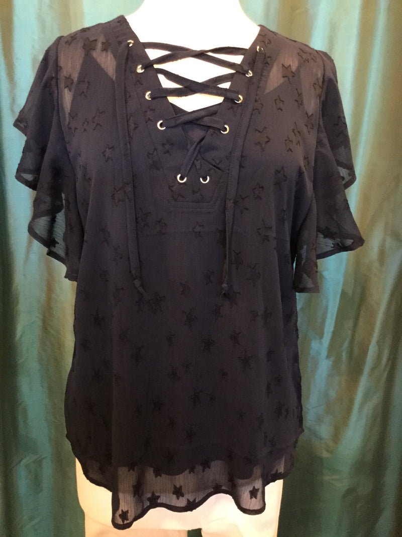 Ethyl Seeing Stars Navy