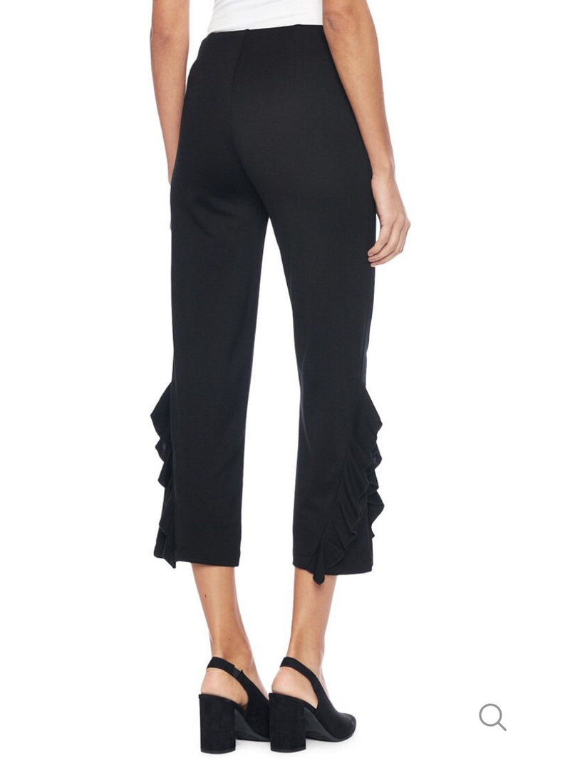 Lysse Ruffle Side Crop Pants